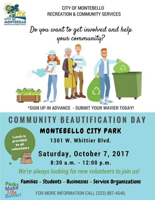 Community Beautification Day 2017